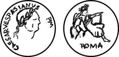 Vespasian coin